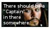 Captain Jack Sparrow stamp
