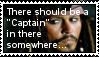 Captain Jack Sparrow stamp by RedSarine