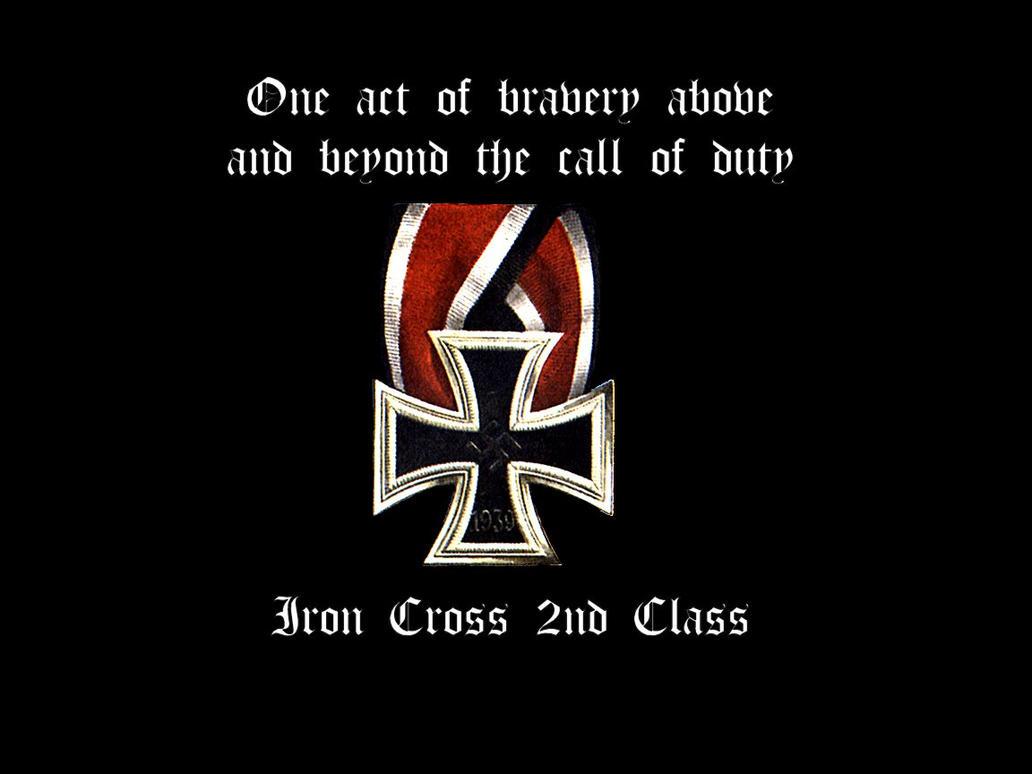 Iron Cross 2nd Class By Luug