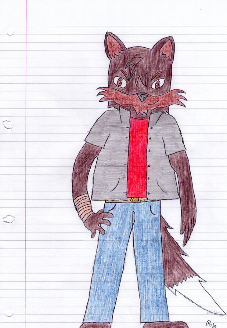 Ric, the hiberic timber wolf - New look by BlackMoonGang