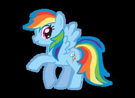 Rainbow Dash by CuteCupcakes3