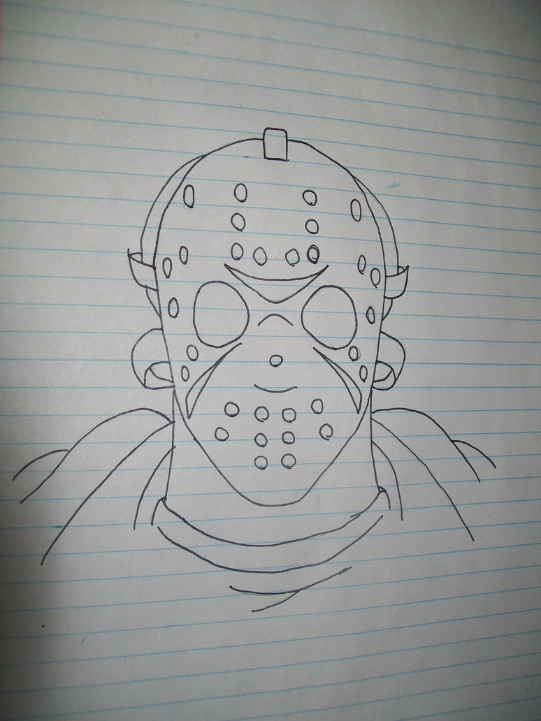 Jason Voorhees Drawing by XTh3ForgottenX on DeviantArt