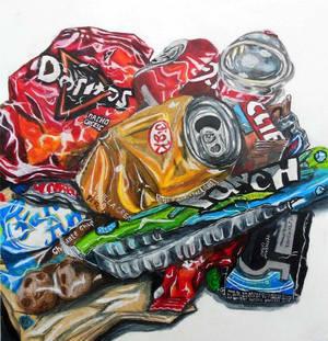 Doodle Practice: Trash