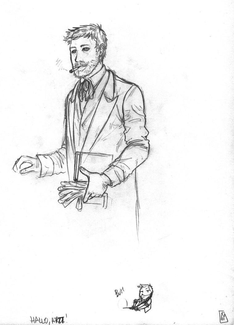 Hallo, Herr Arzt! by Sherry-the-alchemist