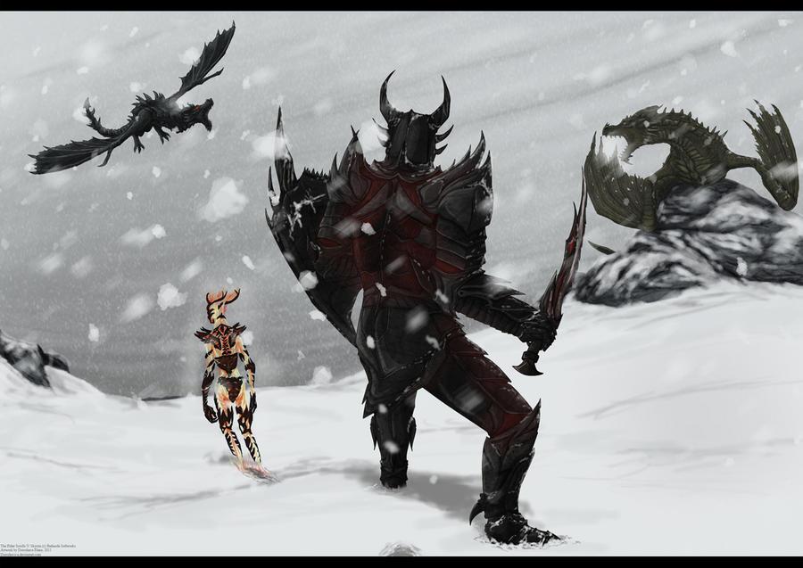 CE - Skyrim contest by Dorosheva-E