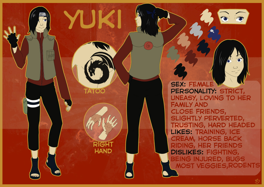 CM - Yuki reference by Dorosheva-E