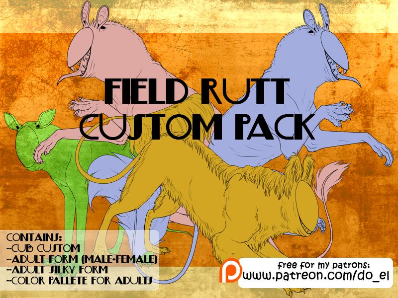 Field rutt - custom pack by Do-El