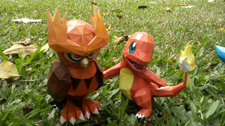 Papercraft Pokemon by rafaelbrito2