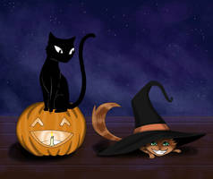 Halloween Sillyness by CheshFire