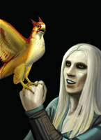 Nuada and Mariposa by CheshFire