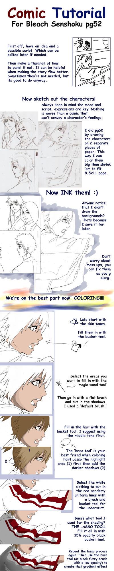 Comic Tutorial part1 by CheshFire