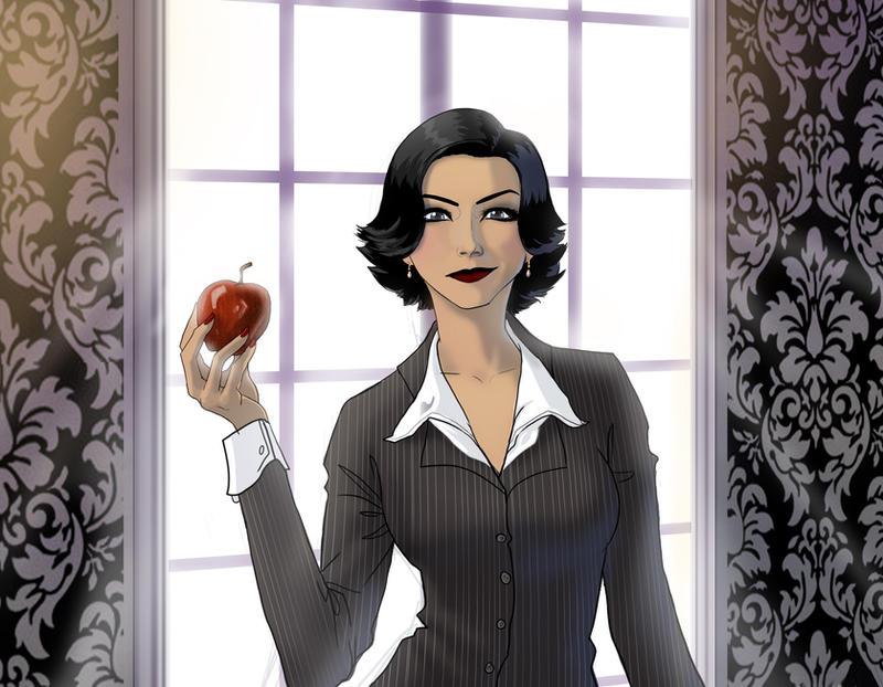 Regina by CheshFire