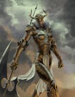 Bullhorne Knight final by CheshFire