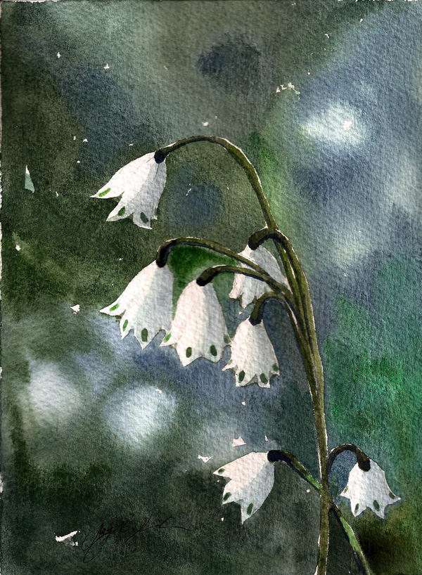 Snowbells by CheshFire