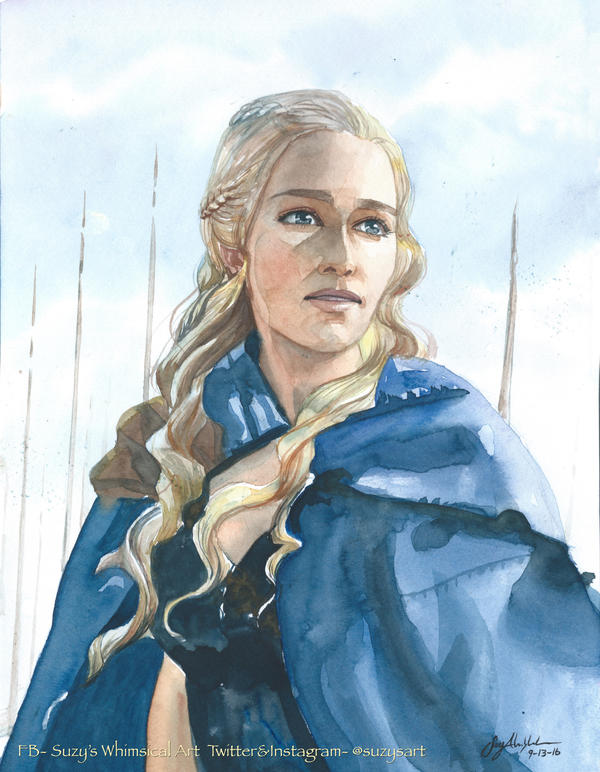 Daenerys by CheshFire