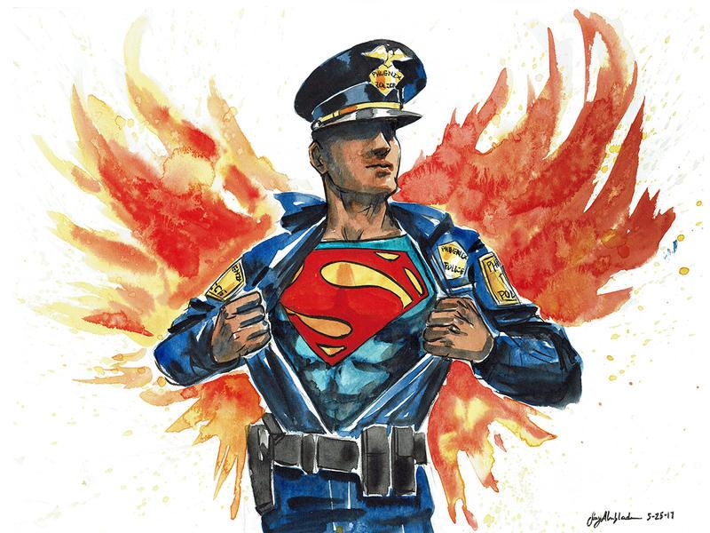 Phoenix Police Heroes by CheshFire