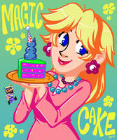 Magic Cake Lady by Kaigetsudo