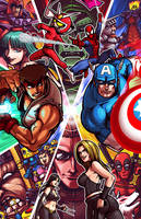 Marvel V.S. Capcom 3 by Kaigetsudo