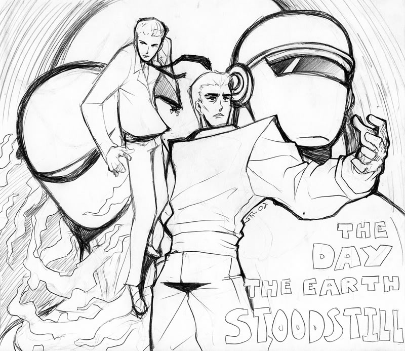 The Day The Earth Stood Still by Kaigetsudo
