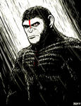 Dawn of The Planet of The Apes - Caesar
