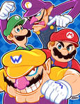 Mario Bros. and the Mario Clones