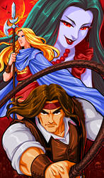 Castlevania Bloodlines - The New Generation