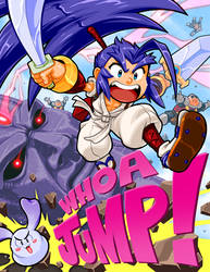Brave Fencer Musashi - JUMP