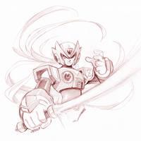 Mega Man X - Zero by Kaigetsudo