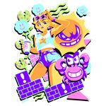 Super Mario Bros - P E A C H W A V E