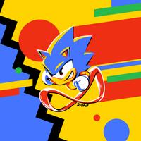 Sonic The Hedgehog by Kaigetsudo