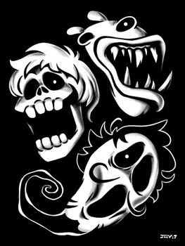Boney Plays - Spooky Ghosts