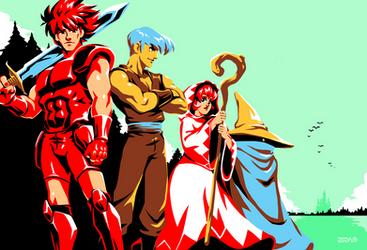 Final Fantasy - The Warriors of Light