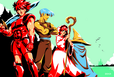 Final Fantasy - The Warriors of Light by Kaigetsudo