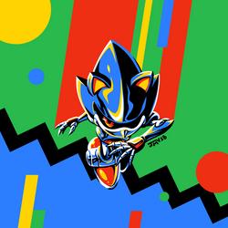 Metal Sonic by Kaigetsudo