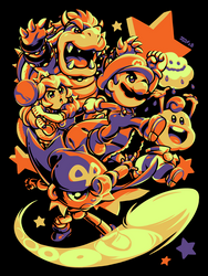 Super Mario RPG - Legend of The Seven Stars by Kaigetsudo