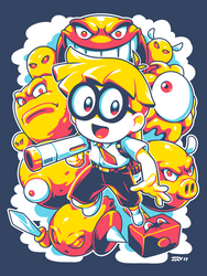 Mutant Mudds - To The Max by Kaigetsudo