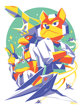 Star Fox 64 - Fox Team