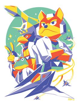 Star Fox 64 - Fox Team