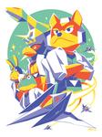 Star Fox 64 - Fox Team by Kaigetsudo