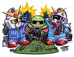 SD Gundam - Gunplajama Party