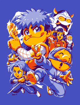 Legend of The Mystical Ninja - Ganbare Goemon