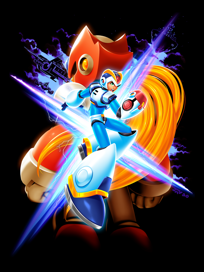 Mega Man X - Full Armor