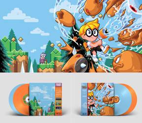 Mutant Mudds Vinyl Spread
