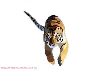 Tigerrrrrr by iknomyabcdsn123s