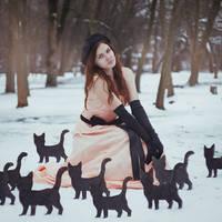 cat girl by Anna1Anna
