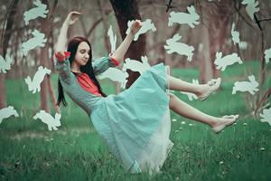 follow the white rabbit by Anna1Anna