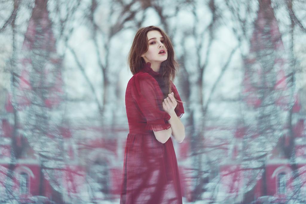 red winter by Anna1Anna