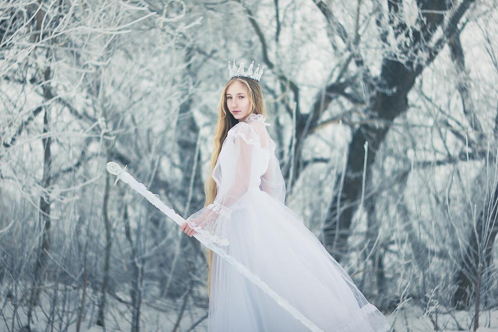 snow princess by Anna1Anna