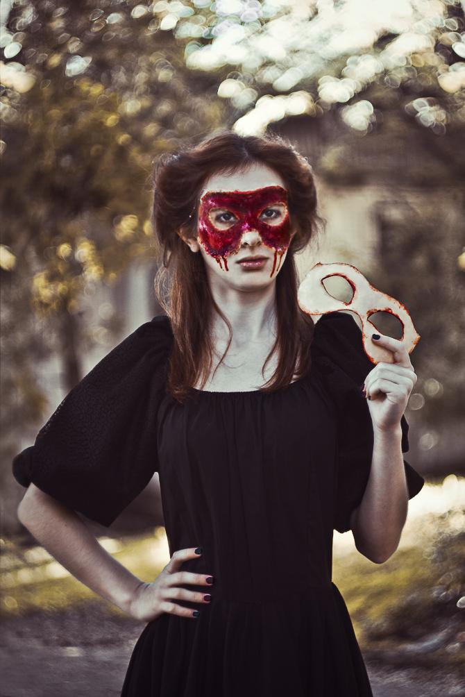 horror masquerade by Anna1Anna