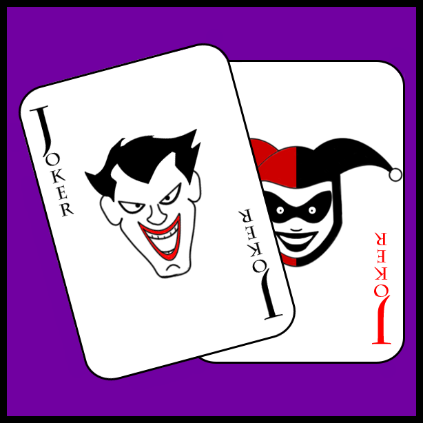 Batman The Animated Series Joker Card